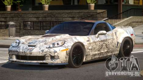 Chevrolet Corvette R-Tuned PJ4 для GTA 4
