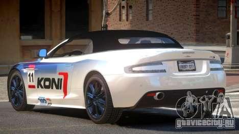 Aston Martin DBS Volante SR PJ4 для GTA 4