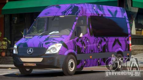 Mercedes Benz Sprinter MR PJ5 для GTA 4
