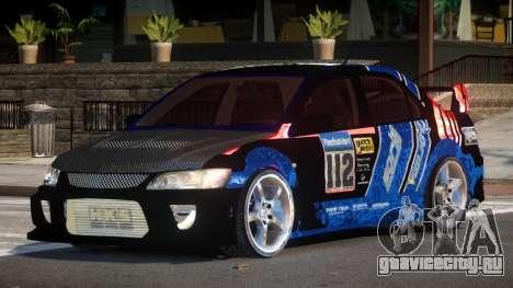 Mitsubishi Lancer G-Style PJ6 для GTA 4