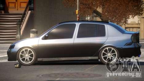 Renault Clio Custom для GTA 4