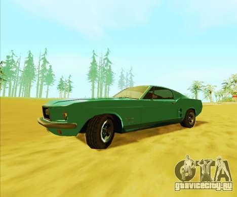 Ford Mustang 1970 (SA Style) для GTA San Andreas