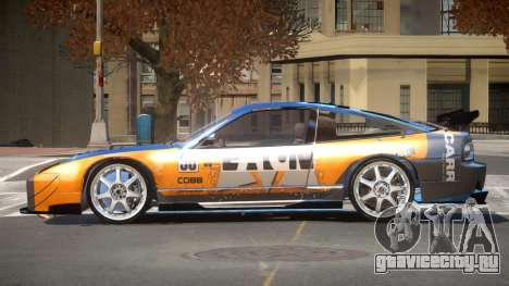 Nissan 240SX D-Tuned PJ3 для GTA 4