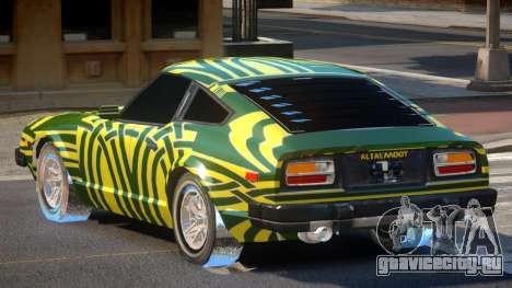 Datsun 280ZX GT PJ1 для GTA 4