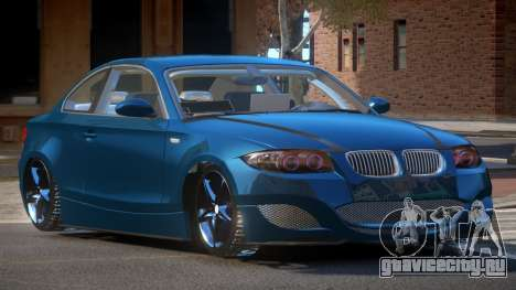 BMW 135I TR для GTA 4