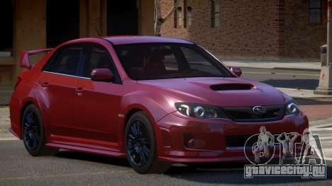 Subaru Impreza WRX SR для GTA 4