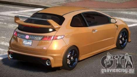 Honda Civic TR G-Tuned для GTA 4