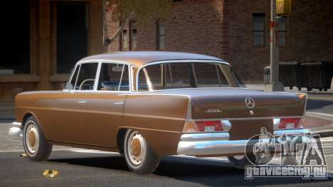Mercedes Benz W111 V1.0 для GTA 4