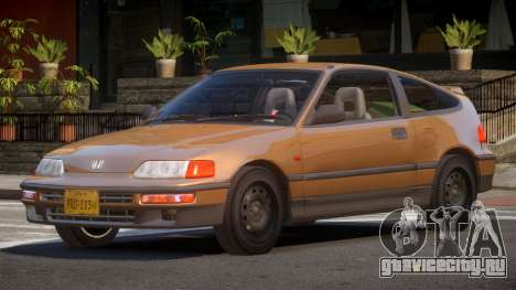 1994 Honda CRX V1.3 для GTA 4