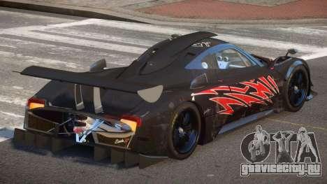 Pagani Zonda SR PJ6 для GTA 4