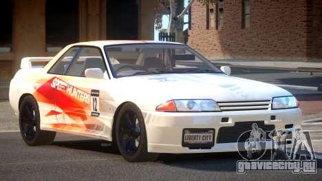 Nissan Skyline R32 V-Style PJ1 для GTA 4