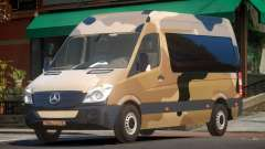 Mercedes Benz Sprinter MR PJ3 для GTA 4