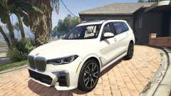 2020 BMW X7 Tuning v.1.0 [Add-On] для GTA 5