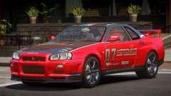 Nissan Skyline R34 GT-Style PJ4 для GTA 4