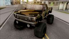 Monster A Camo Edition для GTA San Andreas