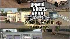 Больше машин, припаркованных вокруг штата Сан-Андреас  для GTA San Andreas
