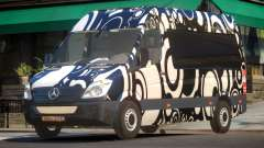 Mercedes Benz Sprinter MR PJ4 для GTA 4