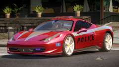 Ferrari 458 TR Police для GTA 4