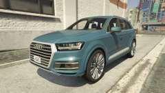 Audi Q7 Comfort Line version 1.1 для GTA 5