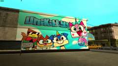 Unikitty Wall HD (San Fierro) для GTA San Andreas