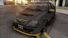 Proton Persona Black Yellow для GTA San Andreas