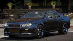 Nissan Skyline R34 GT-Style для GTA 4
