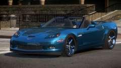 Chevrolet Corvette C6 GS для GTA 4