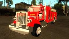 Peterbilt 379 Fire Truck для GTA San Andreas
