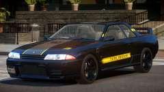Nissan Skyline R32 V-Style PJ4 для GTA 4
