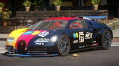 Bugatti Veyron SR 16.4 PJ6 для GTA 4