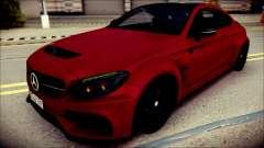 Mercedes-Benz C63 Coupe AMG Prior Design для GTA San Andreas