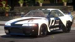 Nissan Skyline R32 V-Style PJ2 для GTA 4