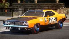 1969 Plymouth Cuda GT PJ3 для GTA 4
