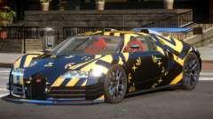 Bugatti Veyron SR 16.4 PJ3 для GTA 4