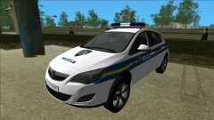 Хорватская Полиция Опель Астра