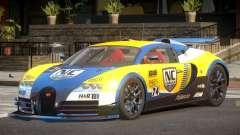 Bugatti Veyron SR 16.4 PJ2 для GTA 4