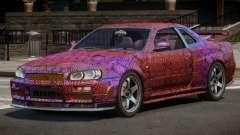 Nissan Skyline R34 SL PJ3 для GTA 4