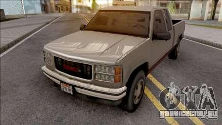 GMC Sierra 1998 Grey для GTA San Andreas