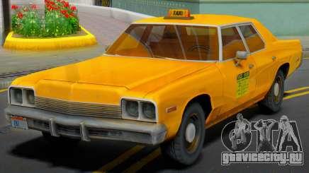 Dodge Monaco 1974 Taxi для GTA San Andreas