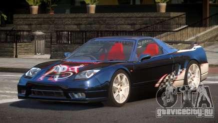 Honda NSX Racing Edition PJ5 для GTA 4