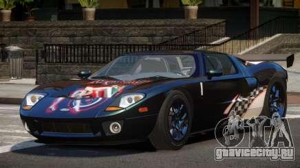 Ford GT1000 RS PJ4 для GTA 4