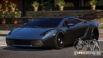 Lamborghini Gallardo Custom для GTA 4