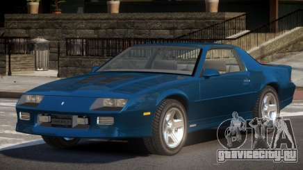 Chevrolet Camaro IROC RT для GTA 4