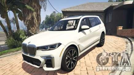 2020 BMW X7 Tuning v.1.0 [Add-On] для GTA 5