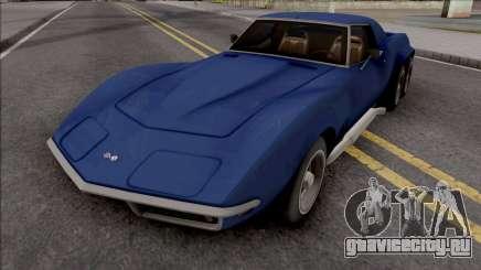 Chevrolet Corvette C3 Pickup для GTA San Andreas