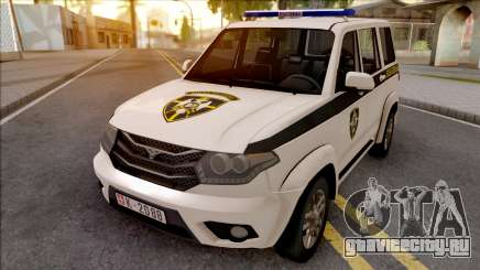 UAZ Patriot Serbian Military Police для GTA San Andreas