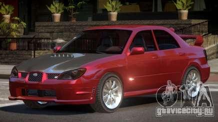 Subaru Impreza WRX S-Tuned для GTA 4
