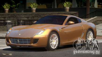 Ferrari 599 V2.2 для GTA 4