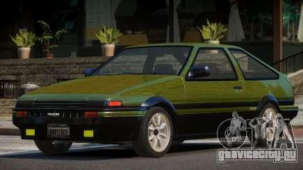 Toyota Corolla AE85 GT PJ4 для GTA 4