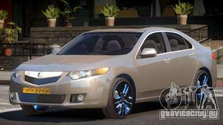 Acura TSX V1.1 для GTA 4